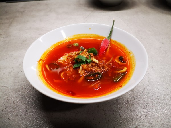 Kung Fu Suppe pikant